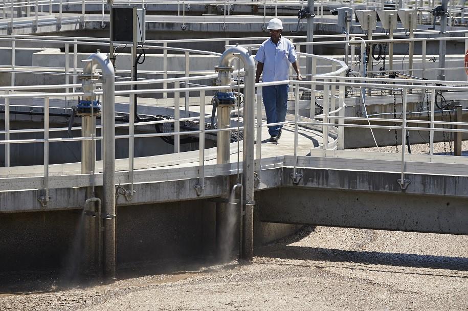 Les usines de traitement des eaux usées