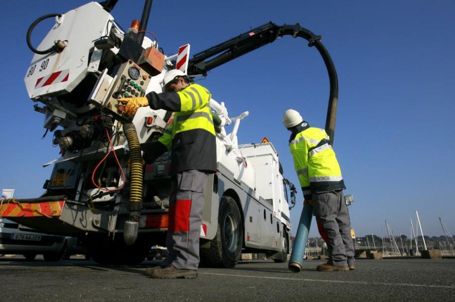 L'entretien du réseau de collecte des eaux usées